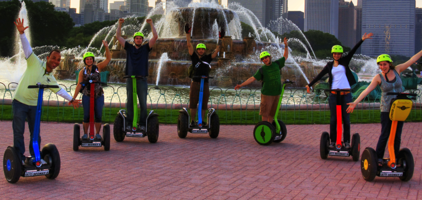 Explore the parks and more with a segway tour