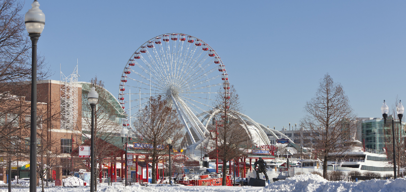 inner Winter Wonderfest at Navy Pier