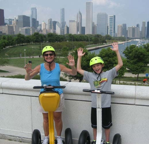 There's no shortage of tours in Chicago, with tours by boat, carriage, foot, segway and more that highlight the city's biggest attractions like the architecture, history, food and beautiful city skyline!